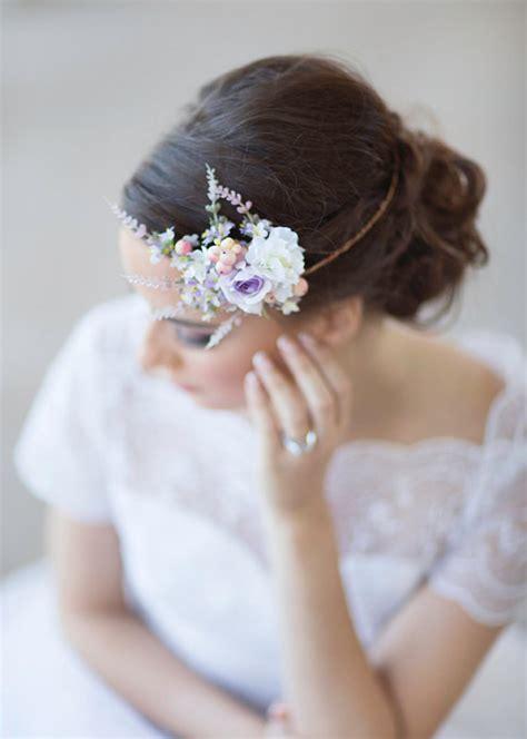 lilac bridal accessories floral circlet 2226186