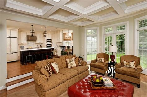 Sunken Living Room Remodel Traditional Family Room By Christine Crafted