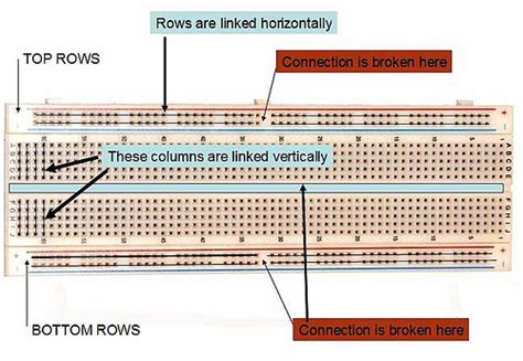 breadboard wiring diagram efcaviation