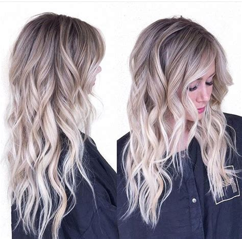 silver blonde root shadow hair ideas pinterest ash blonde w shadow root blonde ambition pinterest