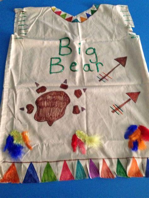 thanksgiving indian vest best of kindergarten indian pillowcase vest preschool crafts pinterest