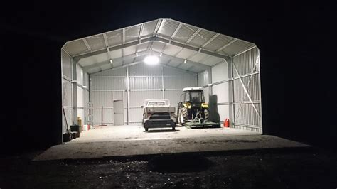 Shed Led Lighting shed lighting properly light your shed the best shed lights steel sheds in australia