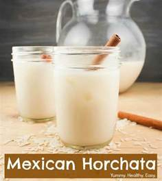 mexican horchata delicious rice cinnamon drink yummy