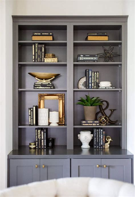 25 best ideas about painted bookcases on painting bookcase bookcase painting ideas
