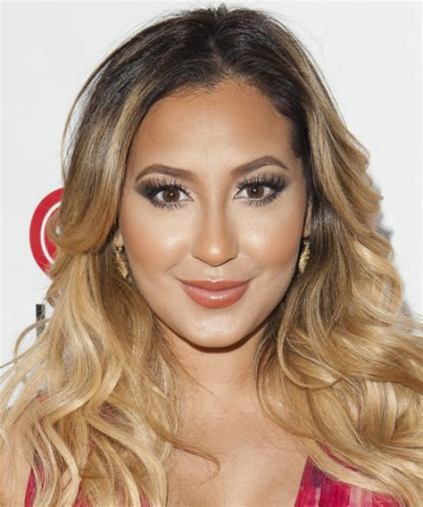 adrienne bailon hair color adrienne bailon wavy casual hairstyle