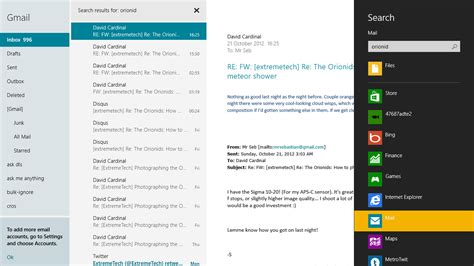 Search By Email Id On Windows 8 The Tablet Review Page 3 Of 5 Extremetech