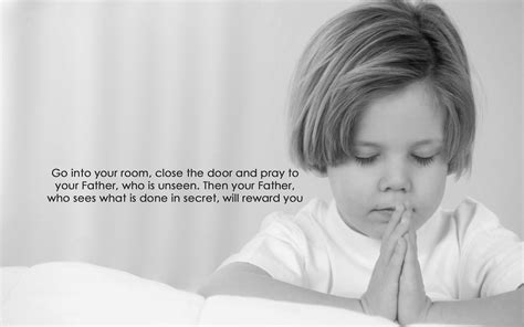 go to your room and pray in secret christian wallpapers