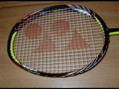 Raket Yonex Nanospeed 9900 badminton racket experiment doovi