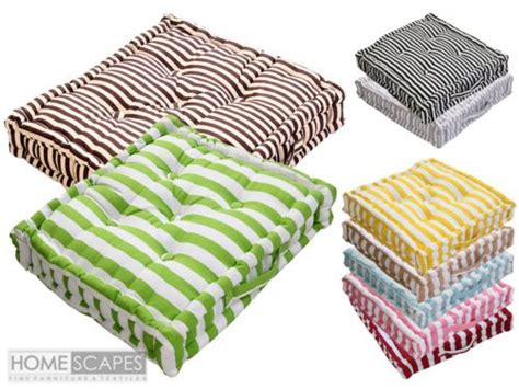 interior homescapes promo code details about homescapes square stripe floor cushions