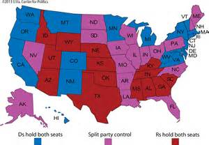 us map of republican and democratic states 2014 larry j sabato s 187 senate 2014 and beyond