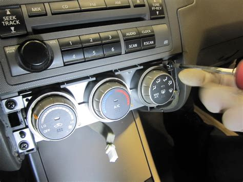how to remove a heater control on a 1985 lincoln continental how to 06 nissan altima temp control removal installation tom s foreign auto parts