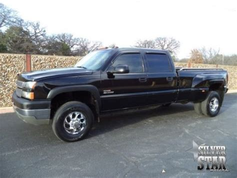 how cars run 2002 chevrolet silverado 3500 parking system purchase used 05 silverado 3500 lt 4wd leather diesel crewcab dually loaded xnice tx in