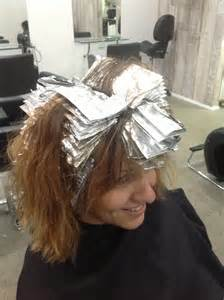 where to place foils in hair graphix northern beaches hairdresser graphix talks