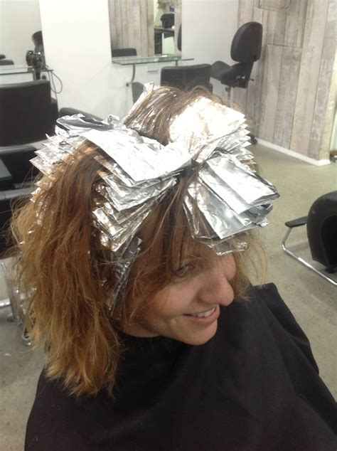 how to section hair for foil highlights graphix highlights archives graphix hair studio
