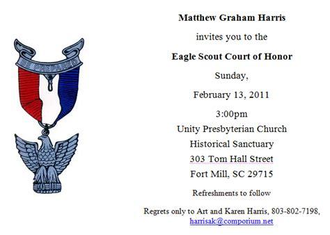 templates for eagle scout invitations matthew eagle scout ceremony invitation memes