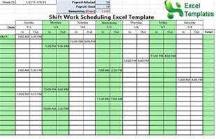 Editable Shift schedule Archives   Schedule Templates