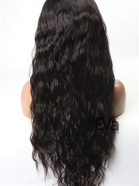Wig Baby goddess wavy custom lace human hair wig with