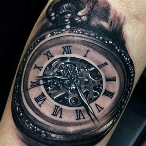 time piece tattoo time tattoos tat2