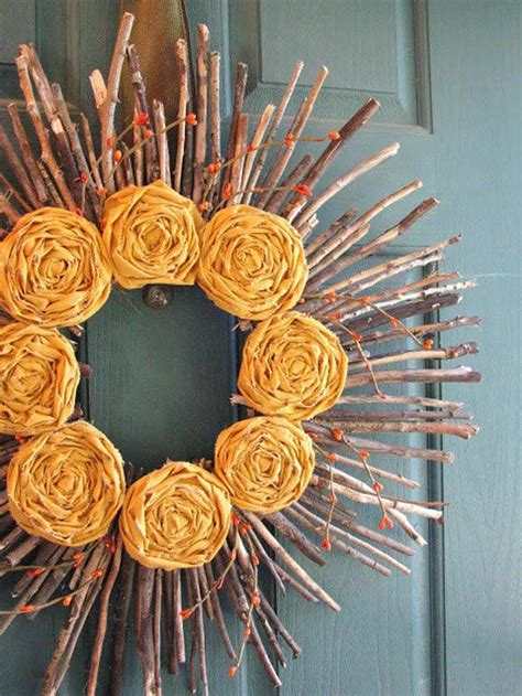 How To Make Wreaths For Front Door How To Make Front Door Wreaths For Fall Diy Projects Craft Ideas How To S For Home Decor With