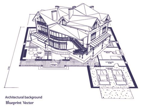 building design layout free software set layout of the building design vector graphics 03