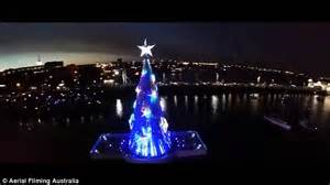 geelong s 1 million floating christmas tree lights up the