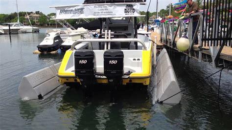 houseboat jet ski r waterjack boat lift pros sunstream float lift 6000 at