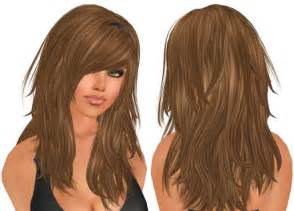 long hairstyles with lots of layers and side bangs http