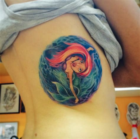 the little mermaid tattoo 59 breathtaking mermaid inspired tattoos tattooblend