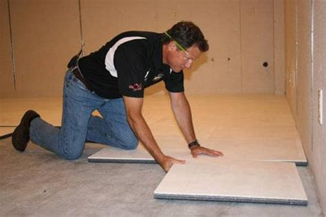 thermaldry 174 insulated floor decking basement subfloor system