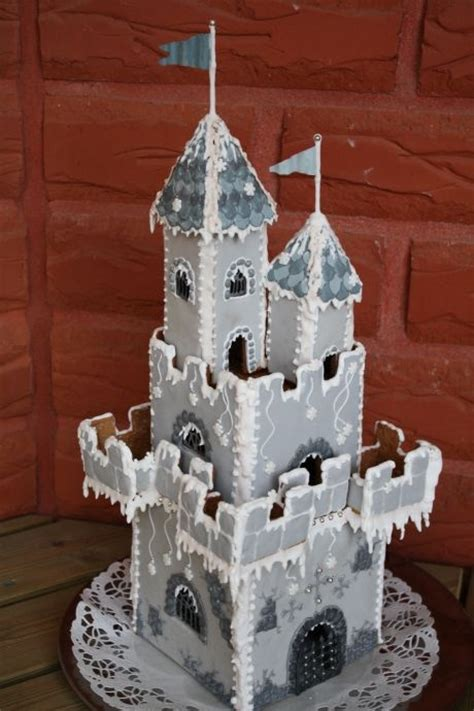 gingerbread castle template castle gingerbread gingerbread