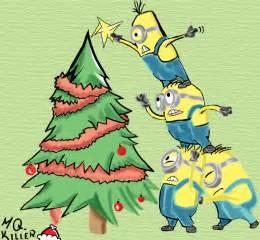 minion christmas minions despicable minion art