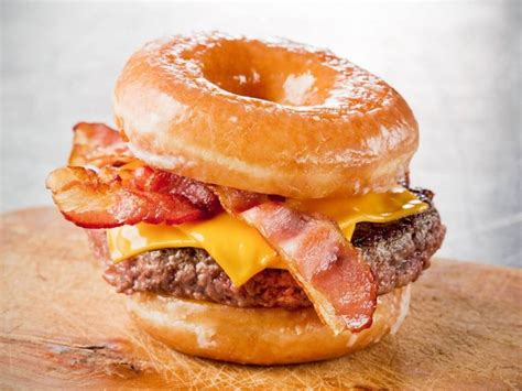 glazed donut burger recipe the burger guide
