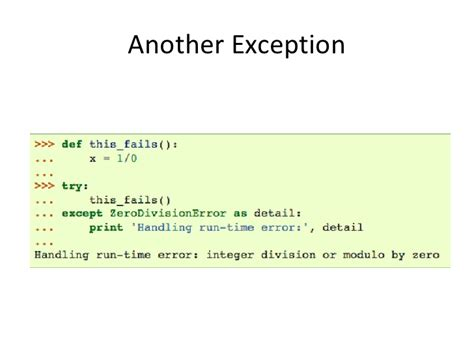 tutorial python exceptions python tutorial part 2