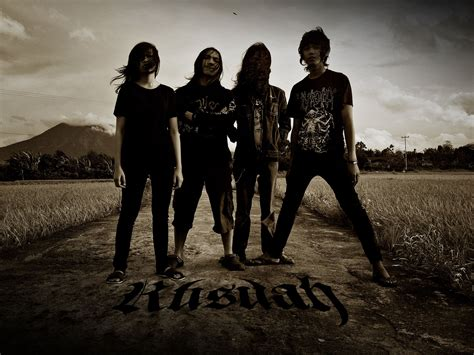 Indonesia Unite black metal band rusuah release new single new