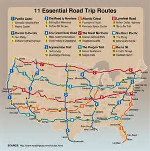 eleven must do road trips in the us the meta picture