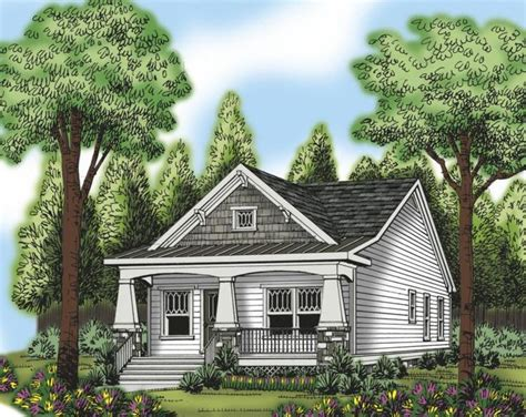 bungalow with charming facade hwbdo11716 1000 images about bungalow house plans on