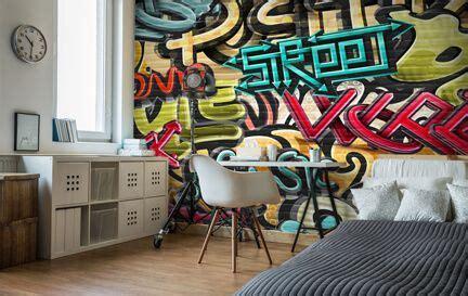 cheap graffiti wallpaper uk graffiti wallpaper wall murals wallsauce uk