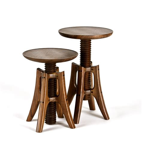 Wooden Stool by Piano Stool By Pearce Wood Stool Artful Home