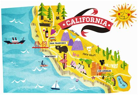 california map facts 9 things you may not about california history in