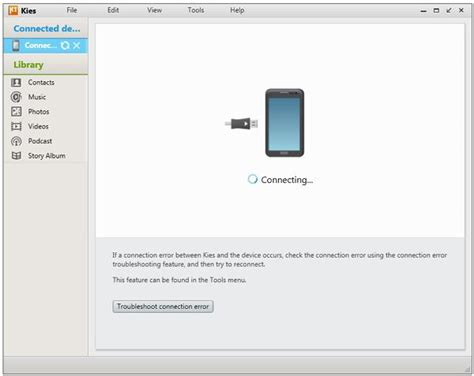 Samsung Kies How To Install Uninstall And Update Samsung Kies On Pc Dr Fone