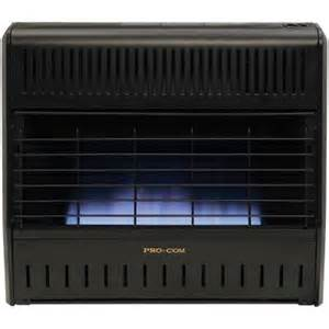 gas heaters home depot procom 30 000 btu blue or liquid propone gas