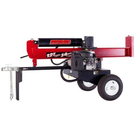 swisher 344 cc 34 ton electric start log splitter