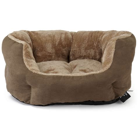 cushion bed bunty polar dog bed soft washable fleece fur cushion warm