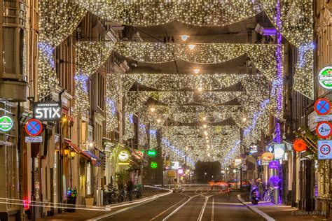 States Place by Holiday Season Lighting Utrechtsestraat Amsterdam The