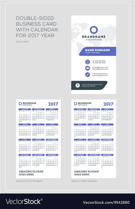 Sided Comp Card Template by Doublesided Vertical Business Card Template With Vector By