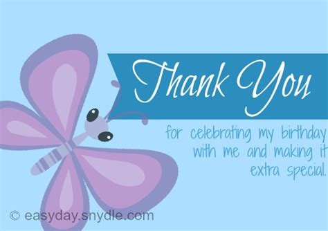 thank you card for birthday template thank you notes for birthday easyday