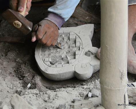Jempol 22cm Cobek Batu Gunung Asli cobek hello asli batu kali gunung merapi tidak