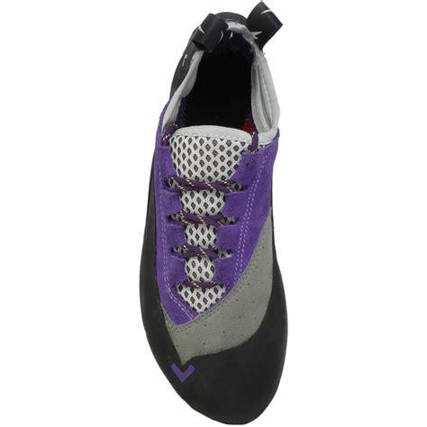 rock climbing shoes canada evolv s rock climbing shoe uk 4 purple
