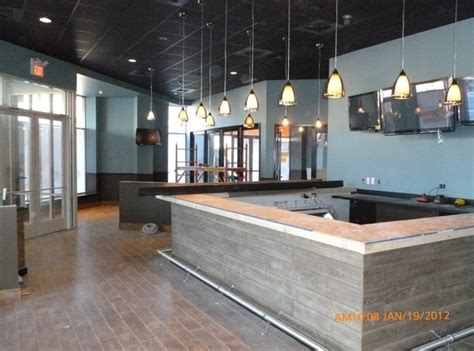 bar top construction inspired commercial spaces design award renovate happy
