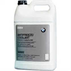 what type of antifreeze for bmw